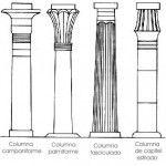 Elementos de Arte Egipcio: la columna