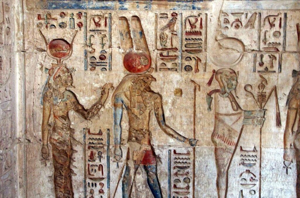 Horus. Deir el Medina