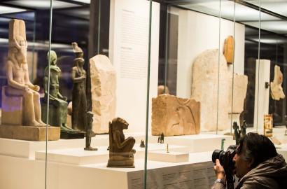 Animales y Faraones. Caixaforum