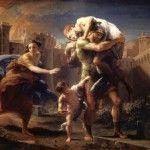 Eneas, el troyano del que desciende Augusto