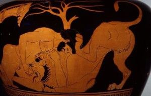Hércules león Nemea