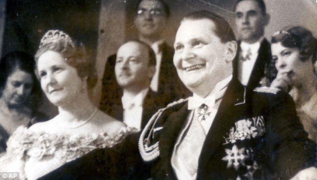 Emmy Goering y su marido