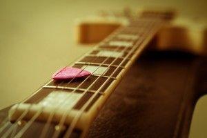 guitarra afinada
