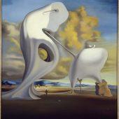 Ángelus arquitectónico de Millet Dalí