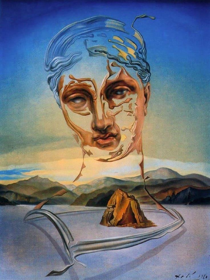 El nacimiento de una divinidad Dalí