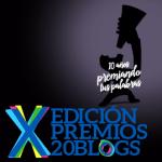 Nos presentamos a los Premios 20Blogs