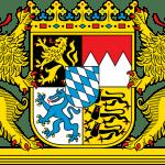 Los escudos alemán y español