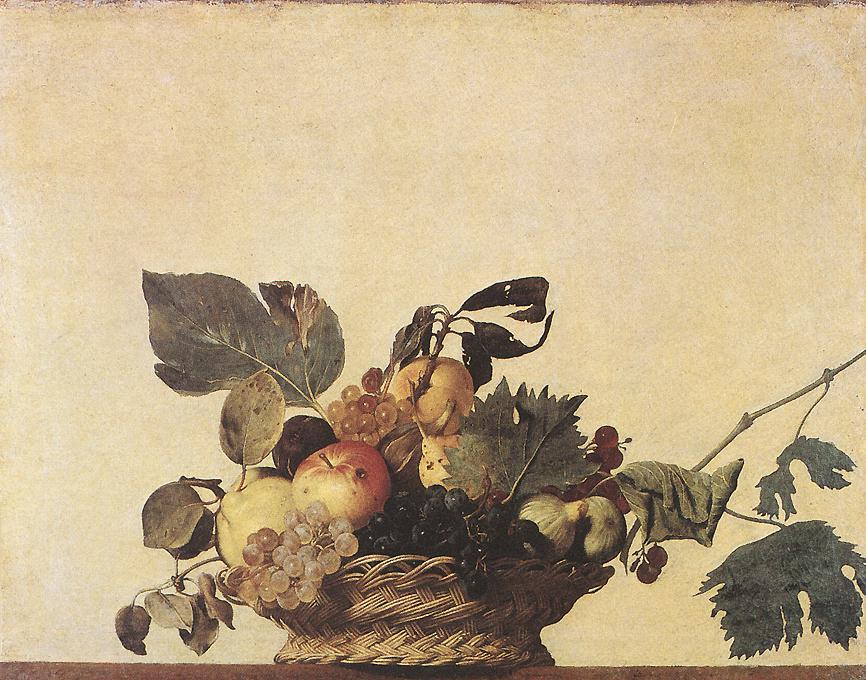 La cesta de frutas