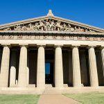 Arquitectura griega: partes del templo griego