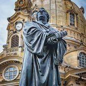 Dresden Lutero estatua