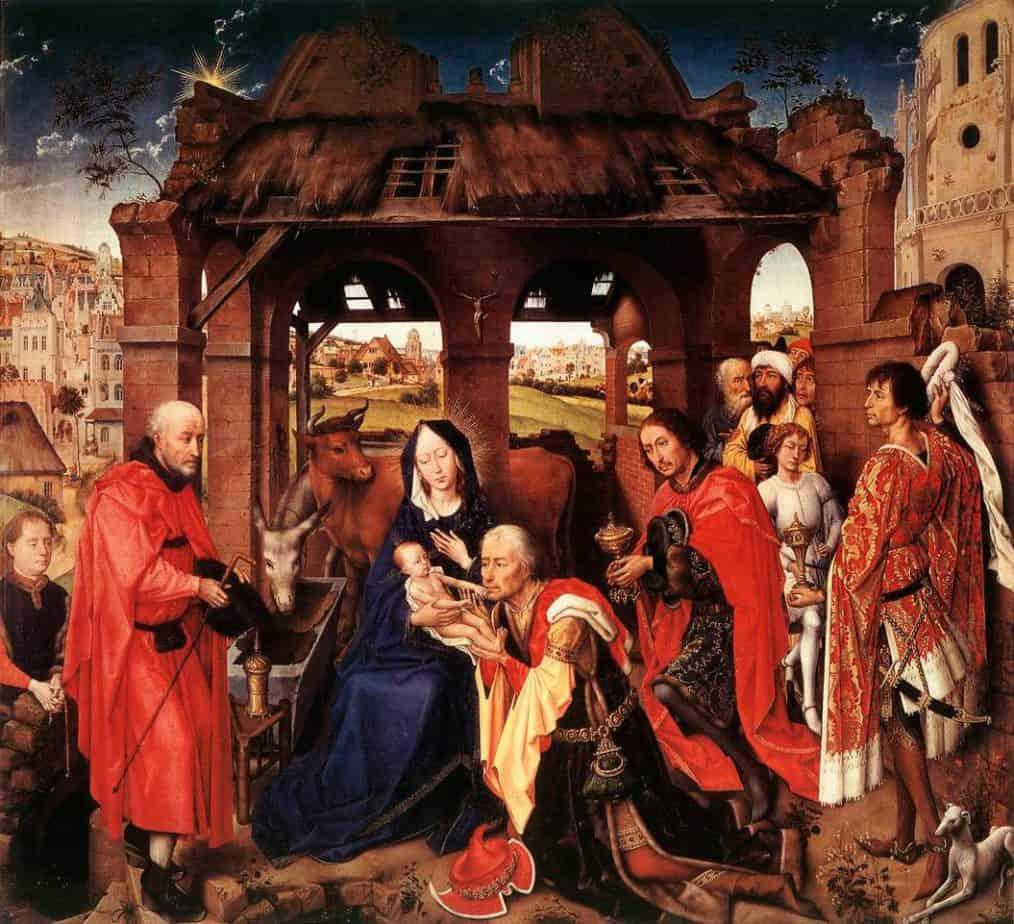 Adoración de los Magos. Rogier van der Weyden.