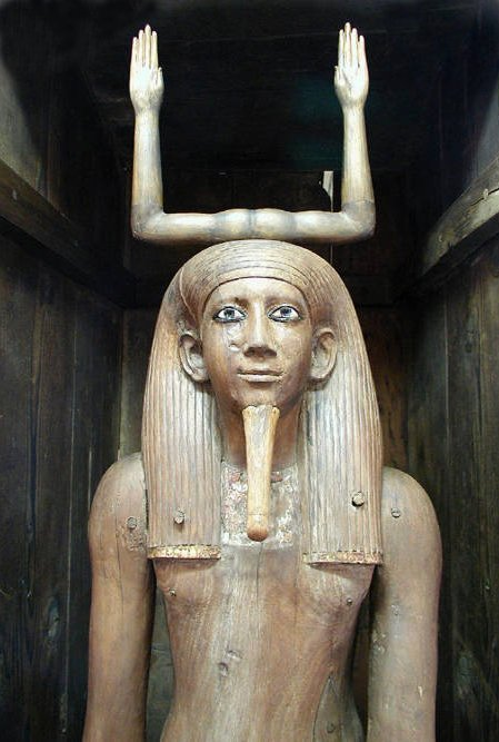 Estatua del faraón Hor. Dinastía XIII